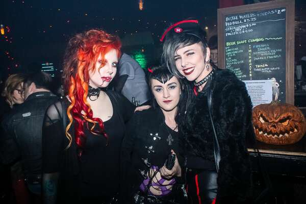 San Antonio embraced its freaky side at the BloodFeast Medical Fetish Ball on Friday, Oct. 19 at The Amp Room
