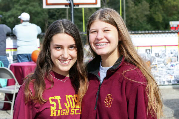 Stamford and St. Joseph high schools faced off on the football field October 20, 2018. Were you SEEN in the stands?