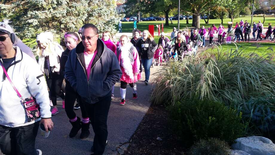 Scenes from the 2018 American Cancer Society Making Strides Against Breast Cancer awareness/fundraiser walk in downtown Midland. Click to see more from 2018. Photo: Fred Kelly/fred.kelly@mdn.net