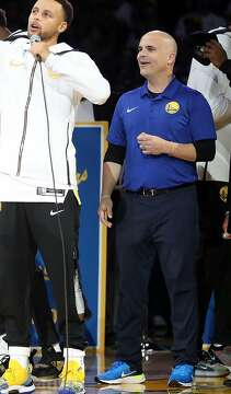 Warriors make sure spotlight shines on longtime employee