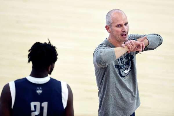 UConn men's basketball head coach Dan Hurley.