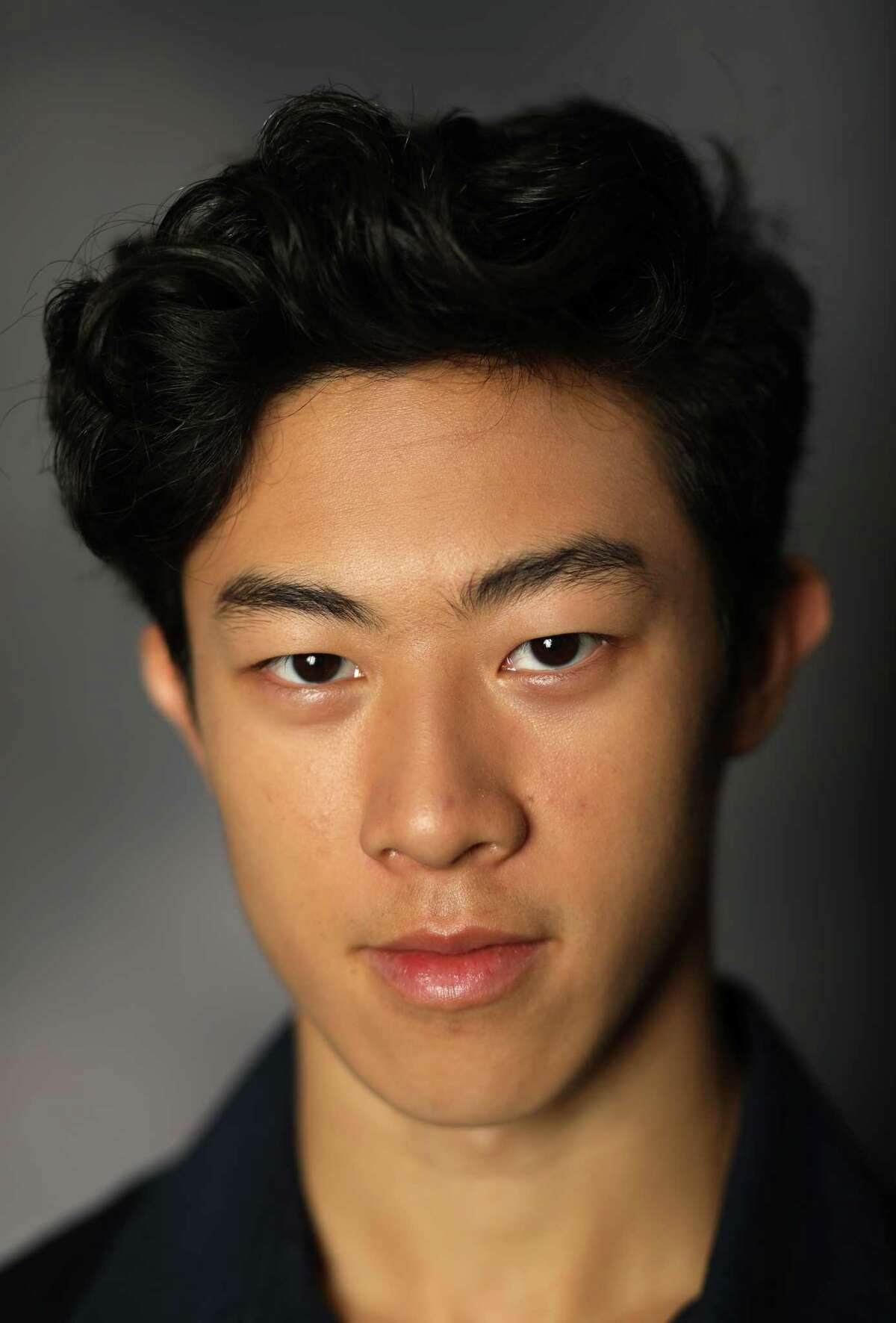 PARK CITY, UT - SEPTEMBER 25: Figure Skater Nathan Chen poses for a portrait during the Team USA Media Summit ahead of the PyeongChang 2018 Olympic Winter Games on September 25, 2017 in Park City, Utah. (Photo by Ezra Shaw/Getty Images) ORG XMIT: 700007615