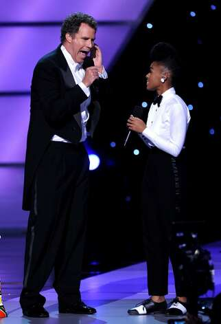 LOS ANGELES, CA - JULY 14:  Actor Will Ferrell sings with Janelle Monae onstage during the 2010 ESPY Awards at Nokia Theatre L.A. Live on July 14, 2010 in Los Angeles, California.  (Photo by Kevin Winter/Getty Images) *** Local Caption *** Will Ferrell;Janelle Monae Photo: Kevin Winter, Getty Images / 2010 Getty Images