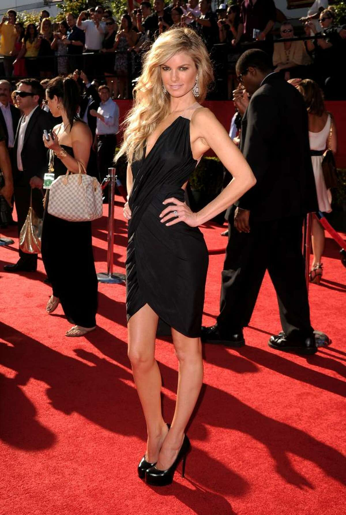LOS ANGELES, CA - JULY 14: Model Marisa Miller arrives at the 2010 ESPY Awards at Nokia Theatre L.A. Live on July 14, 2010 in Los Angeles, California. (Photo by Jason Merritt/Getty Images) *** Local Caption *** Marisa Miller