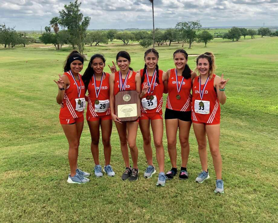 The United girls' cross country team will compete at the Regional IV-6A meet in Corpus Christi Monday. Photo: Courtesy Photo