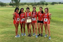 The United girls' cross country team will compete at the Regional IV-6A meet in Corpus Christi Monday.