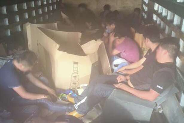 Laredo Sector Border Patrol agents recently rescued 24 individuals who were being smuggled in a truck.