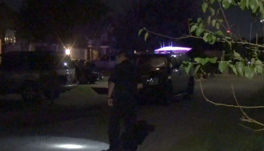 A man was wounded by shrapnel early Sunday in a Sunnyside drive-by shooting. Photo: Metro Video