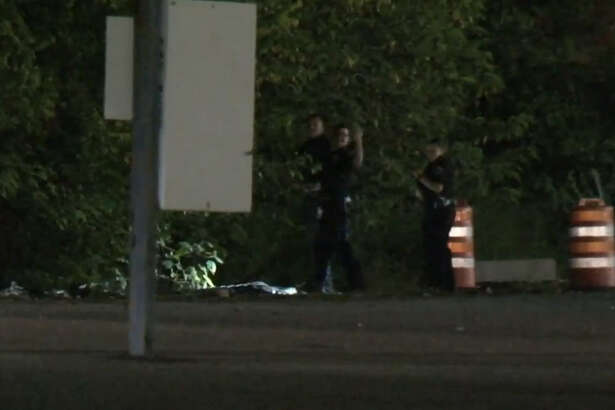 A man arrested by Friendswood police escaped custody en route to the Harris County Jail.