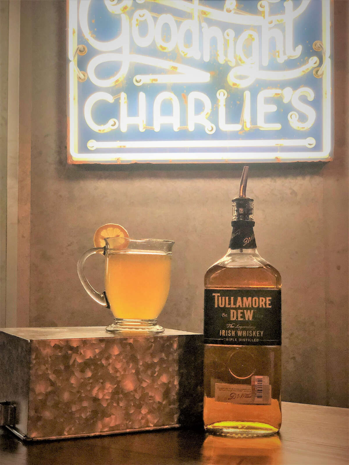 The Big Tom Toddy at Goodnight Charlie's is named for Irish country singer Tom McBride.