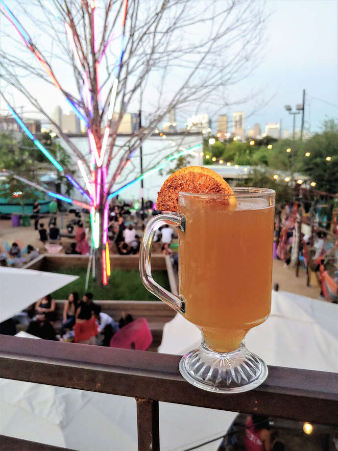 Axelrad's wassail is called Sit Down, Wassail (Be Healthful). Photo: Photo By Photo By Steven Villarreal