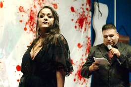 Galveston's first ever Vampire Pageant brought the Halloween spirit to the island Saturday night and raised funds for a center that helps domestic violence and sexual assault victims.