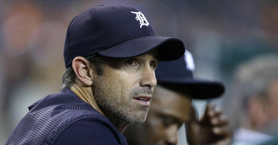 DETROIT, MI - SEPTEMBER 22:  Manager Brad Ausmus #7 of the Detroit Tigers smiles watches from the dugout during the third inning of a game against the Minnesota Twins at Comerica Park on September 22, 2017 in Detroit, Michigan. Manager Al Avila said before the game Friday that Brad Ausmus would not return as the Tigers manager. Ausmus will finish the season as manager. (Photo by Duane Burleson/Getty Images) Photo: Duane Burleson/Getty Images
