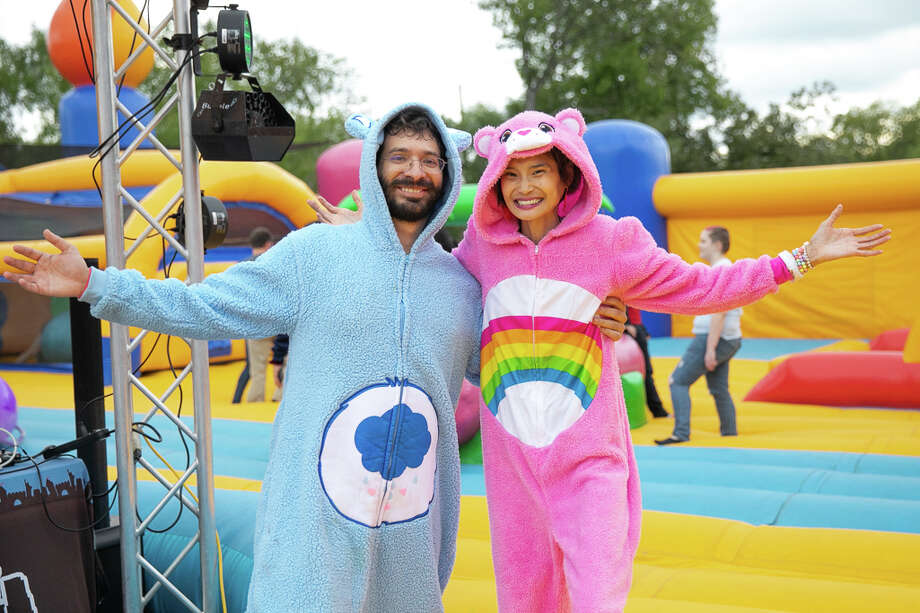 Photos: S A  reached new heights of fun at The Big Bounce