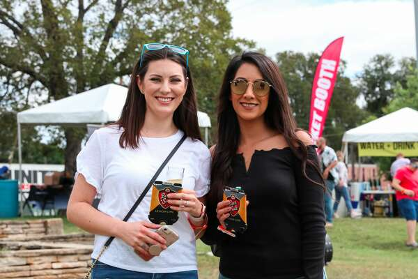 Guests had the chance to sample from more than 400 beers and 125 breweries at the 13th annual San Antonio Beer Festival on Saturday, Oct. 20, at Dignowity Park.