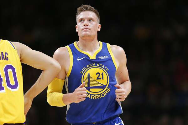 Golden State Warriors forward Jonas Jerebko (21) during the second half of  an NBA preseason game at SAP Center on Friday d35059244
