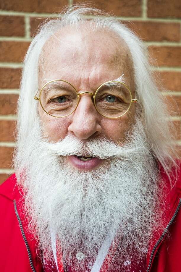 Everett Johnson of Tennessee, a participant in the 81st annual Charles W. Howard Santa Claus School, poses for a portrait on Saturday, Oct. 20, 2018 at the Midland Center for the Arts. (Katy Kildee/kkildee@mdn.net) Photo: (Katy Kildee/kkildee@mdn.net)