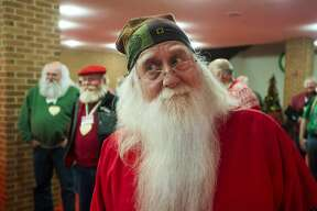 Participants in the 81st annual Charles W. Howard Santa Claus School take a dance lesson on Saturday, Oct. 20, 2018 at the Midland Center for the Arts. (Katy Kildee/kkildee@mdn.net)