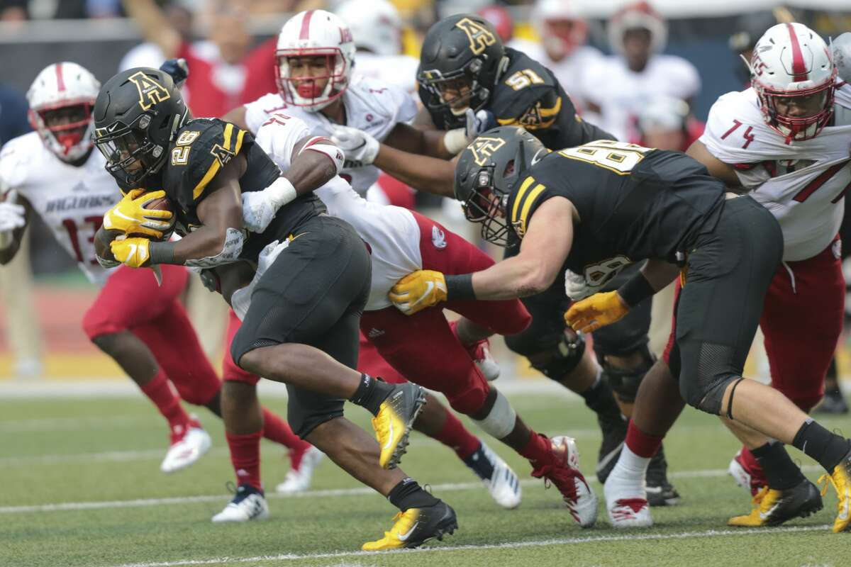 >>>The Associated Press Top 25: Week 9 25. Appalachian State Sun Belt 5-1