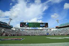 JACKSONVILLE, FL - SEPTEMBER 30: A general view of TIAA Bank Field during the game between the Jacksonville Jaguars and the New York Jets on September 30, 2018 in Jacksonville, Florida. (Photo by Sam Greenwood/Getty Images)