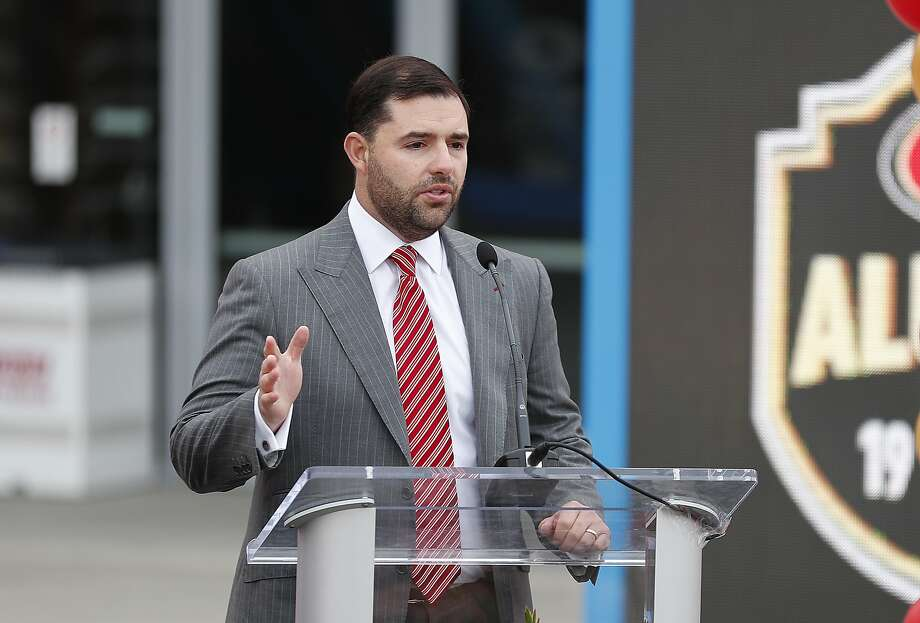 Tony York, brother of 49ers CEO Jed York, seen here, passed away in December, the family announced. Photo: Tony Avelar / Associated Press