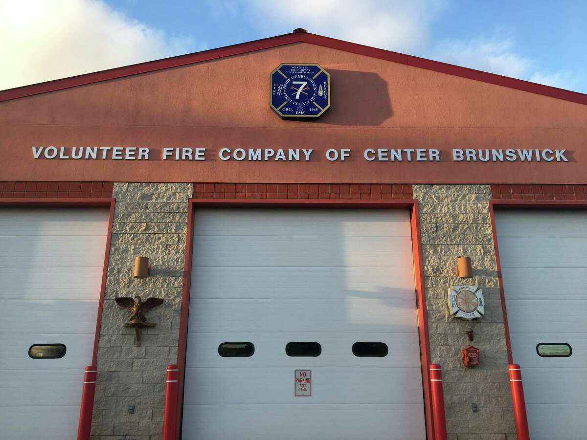 An 86-year-old woman was killed on Friday evening while walking alongHoosick Road/Route 7 in front of the Center Brunswick Fire Station, pictured here on Oct. 21, 2018.