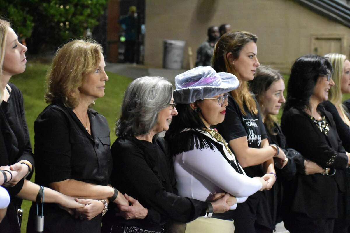 Golden Girls alumnae participated in a special halftime performance on Friday night to celebrate 50 years.