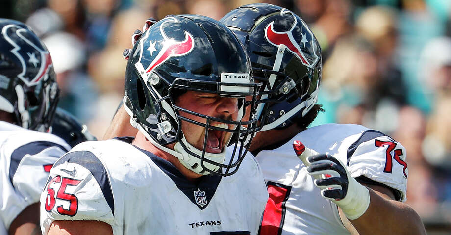Greg Mancz started 28 of 57 career games with the Texans. Photo: Brett Coomer/Staff Photographer / © 2018 Houston Chronicle