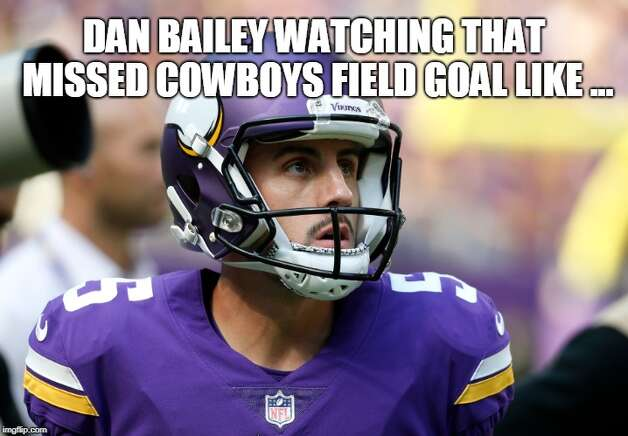 Dallas Cowboys Week 7: Washington 20, Cowboys 17 Cowboys kicker Brett Maher, who replaced Dan Bailey before the season, missed a 52-year-old field goal in the final seconds to give Washington the win. Photo: Matt Young