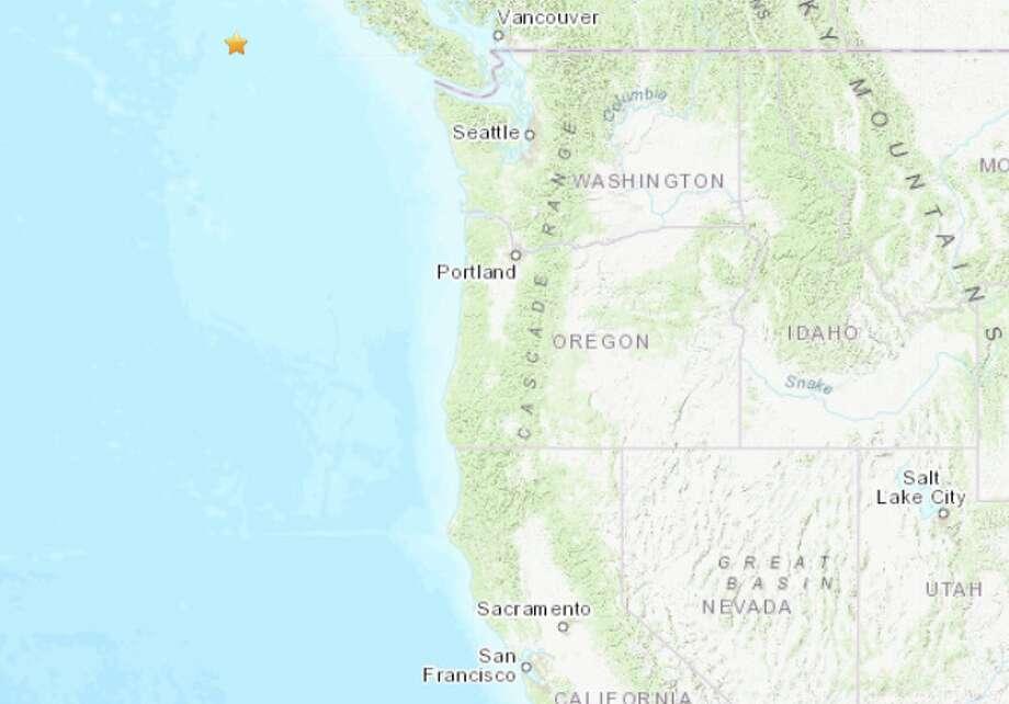 Magnitude 6.6 earthquake strikes near Port Hardy, Canada