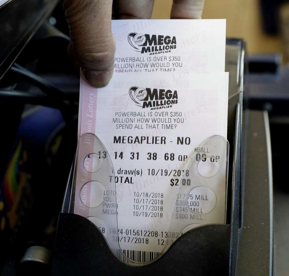 The Mega Millions jackpot in the Tuesday, Oct. 23, 2018 drawing is an estimated $1.6 billion. On Saturday, Oct. 20, 2018 a Powerball ticket sold in Connecticut matched five numbers to win $1 million. Photo: Nam Y. Huh / AP / Copyright 2018 The Associated Press. All rights reserved.