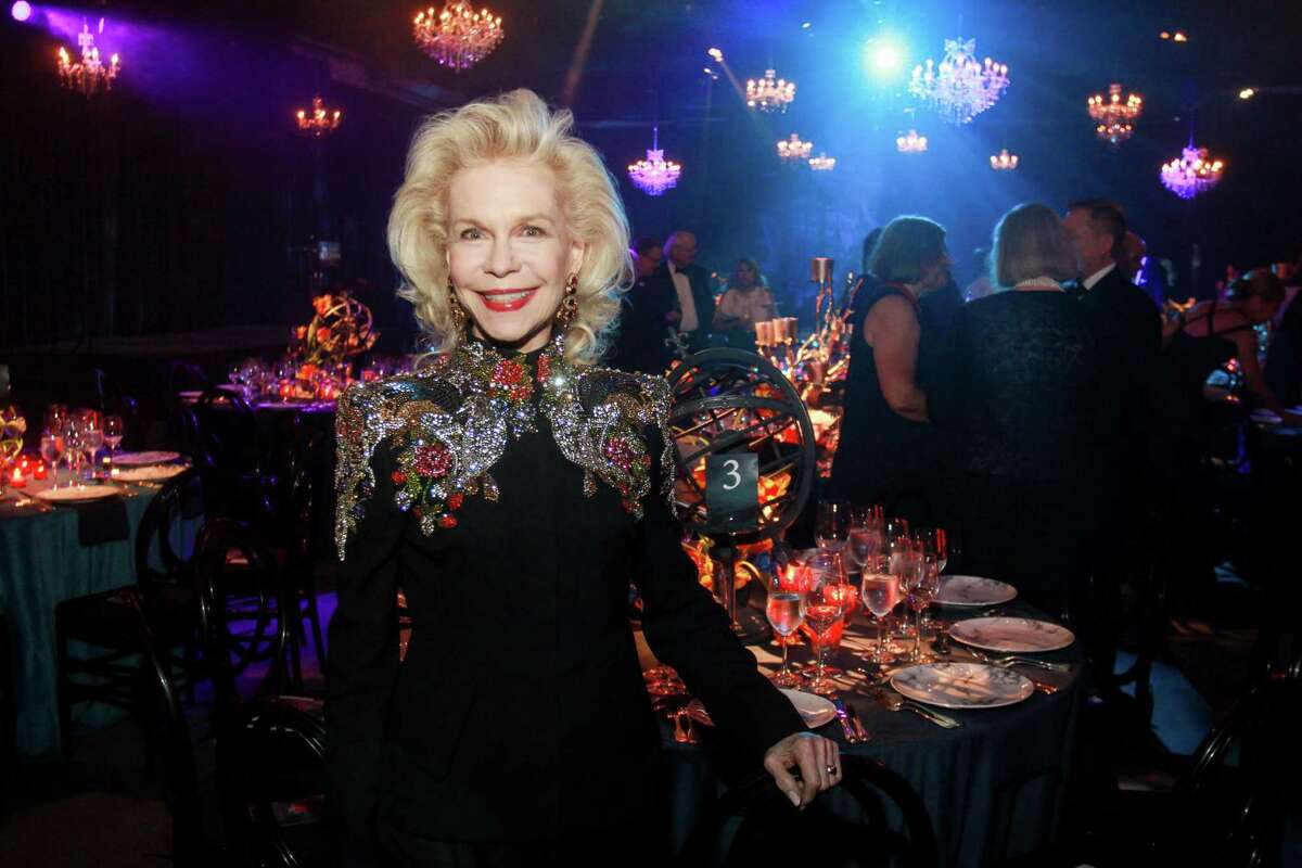 Lynn Wyatt at Houston Grand Opera's Opening Night Gala Dinner.