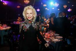 EMBARGOED FOR REPORTER Until 10/22 at 9AM Lynn Wyatt at Houston Grand Opera's Opening Night Gala Dinner.
