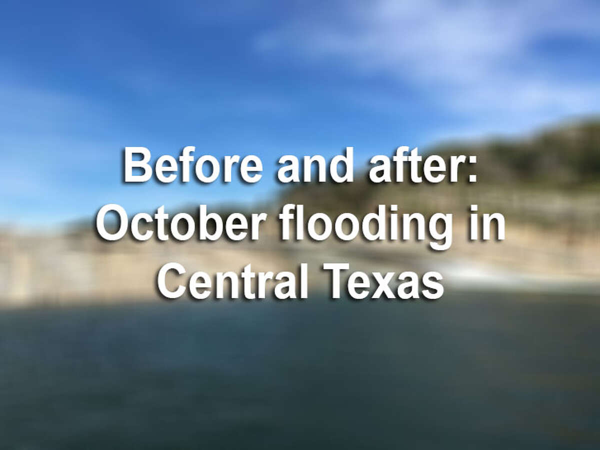 Before and after photos show just how intense the Llano and Colorado rivers floods were in mid-October 2018, as well as how they affected state parks and dams along the way.
