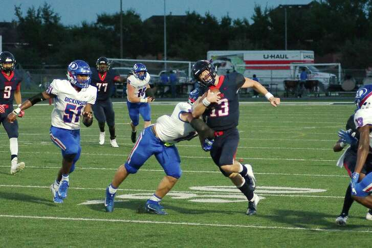 Dawson will likely have to endure some jarring hits when the Eagles take on Alief Taylor Friday night in Houston.