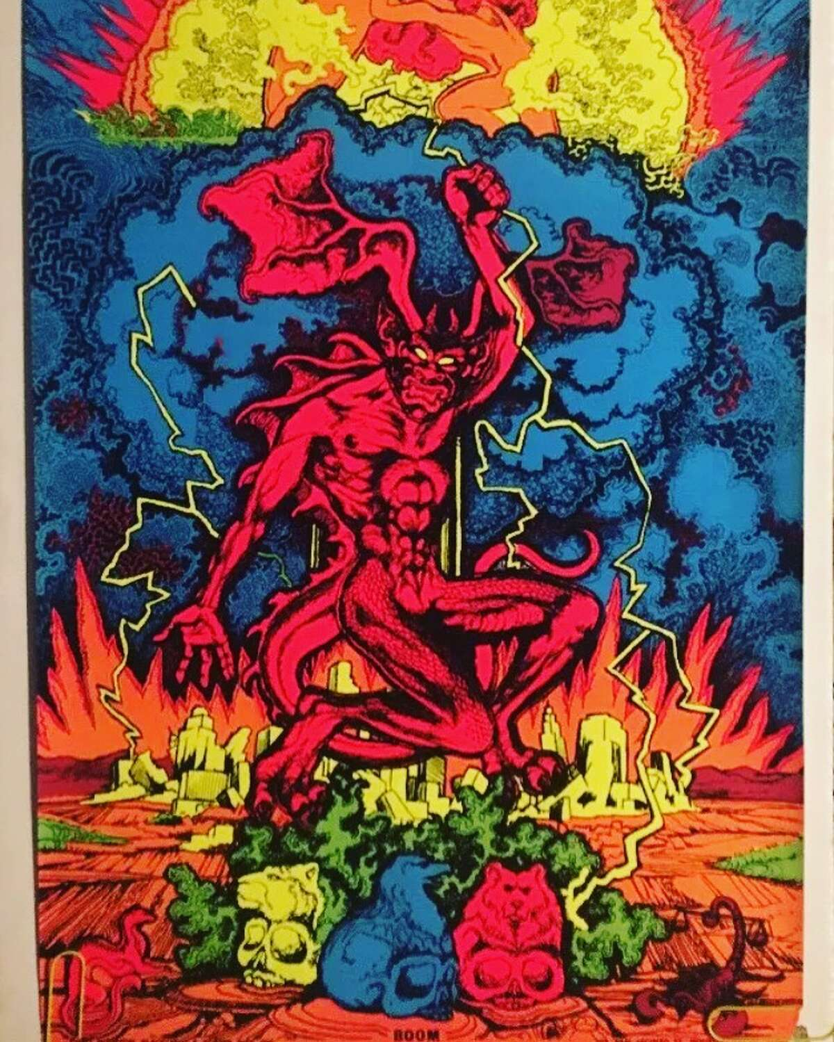 The Houston Blacklight Shop was where Houston-area stoners and rockers got the posters that angered and confused their parents.