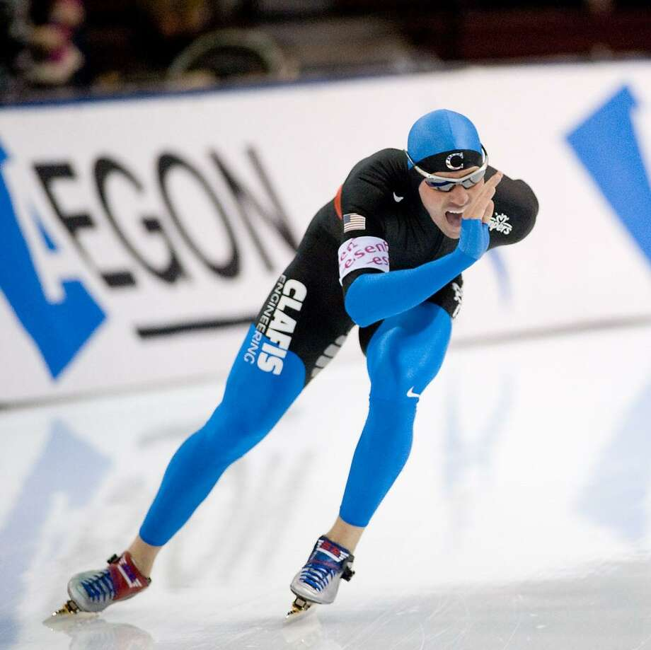 Chad Hedrick, five-time Olympic Medalist for inline speed skating and ice speed skating, will be a featured speaker at Thursday's North Houston Business Extravaganza Photo: Photo Courtesy Of, Photographer / Maziarzphoto.com / maziarzphoto.com