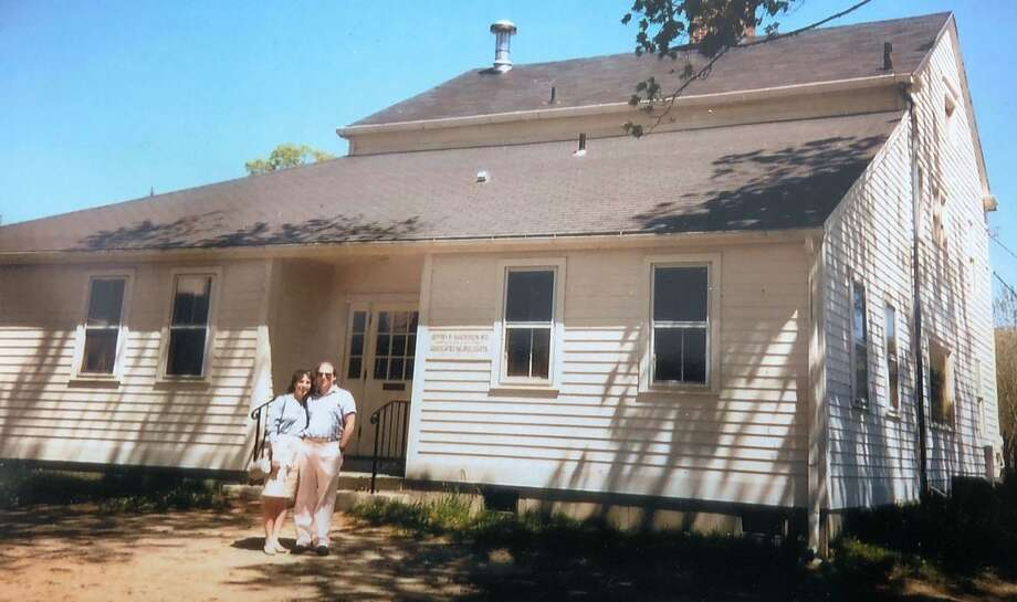 Candlewood Valley Pediatrics founders Dr. Diane DIsidori and Dr. Evan Hack, shown above in this 1988 photograph outside the office at 17 Poplar St., in New Milford marks its 30th anniversary this year. The office is located at 120 Park Lane (Route 202), Suite A-101. Photo: Contributed Photo / Contributed Photo / The News-Times Contributed