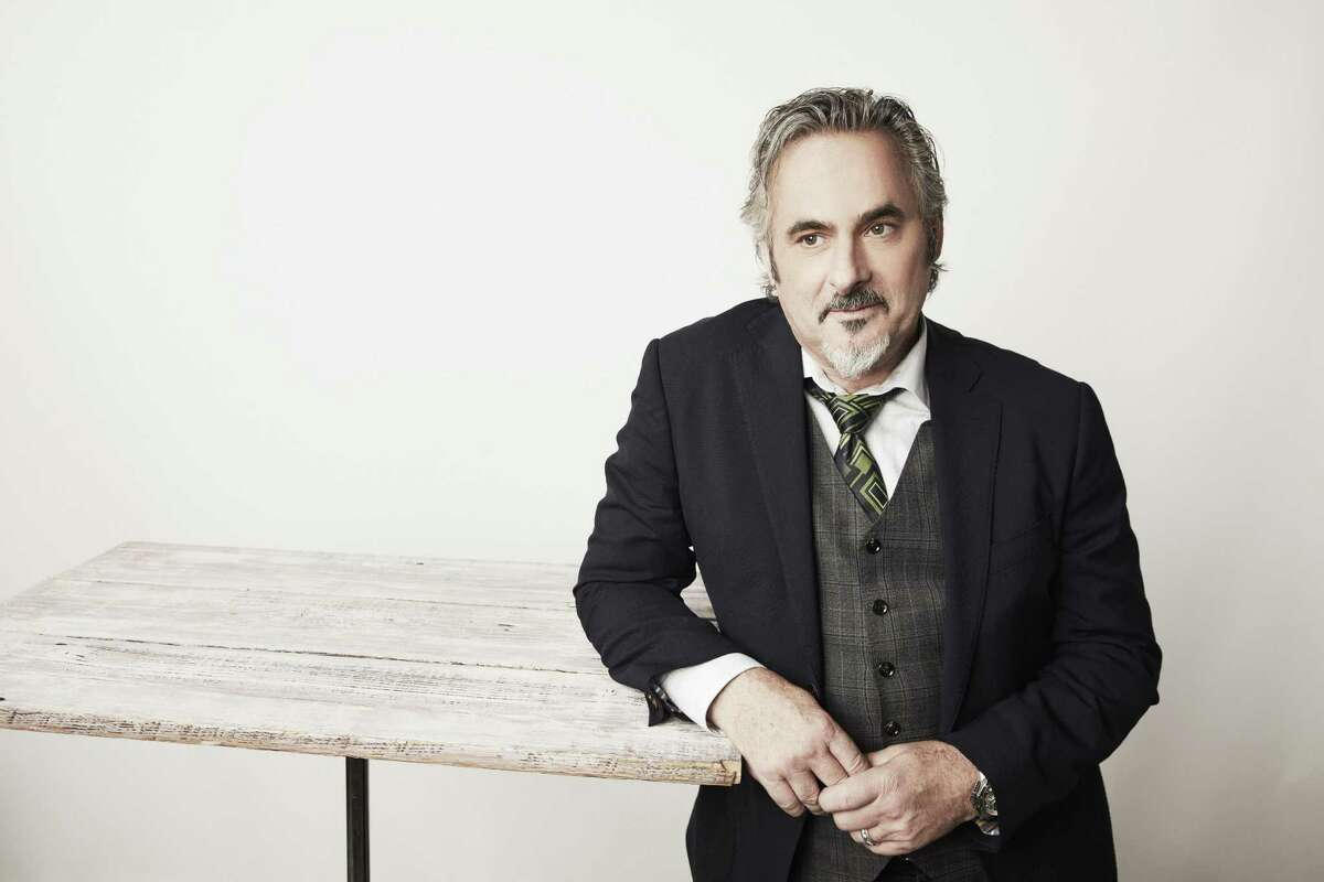 """David Feherty, a broadcaster and talk-show host for NBC Sports and the Golf Channel, mines his more than 20-year career in professional golf, as a player and analyst, for his one-man show, """"Wandering Around on His Own,"""" the tour of which rolls into Stamford's Palace Theatre on Oct. 25. He's pictured here in March 2017 in Los Angeles in advance of the 2017-18 NBC sports season."""
