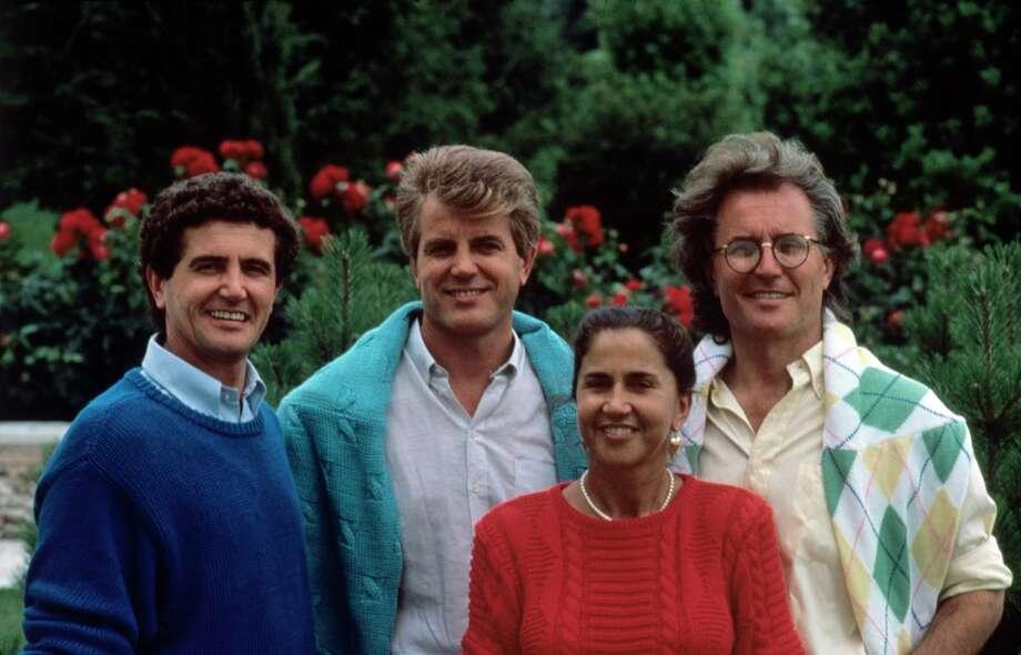 The Benetton siblings: Carlo, Gilberto, Giuliana and Luciano. Gilbert Benetton died on Monday, Oct. 22, 2018. Photo: Mondadori Portfolio/Mondadori Via Getty Images / Mondadori Collection