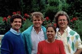The Benetton siblings: Carlo, Gilberto, Giuliana and Luciano.