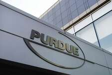 FILE - This May 8, 2007 file photo shows the Purdue Pharma offices in Stamford, Conn. On Wednesday, Sept. 5, 2018, the company, whose prescription opioid marketing practices are being blamed for sparking a nationwide overdose and addiction crisis says it?'s helping to fund an effort to make a lower-cost overdose antidote. (AP Photo/Douglas Healey, File)