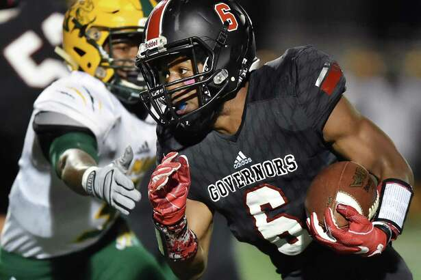 Wilbur Cross running back Jasiah Barnes is one of this week's top performers after rushing for 163 yards and three touchdowns in a win over Hamden.