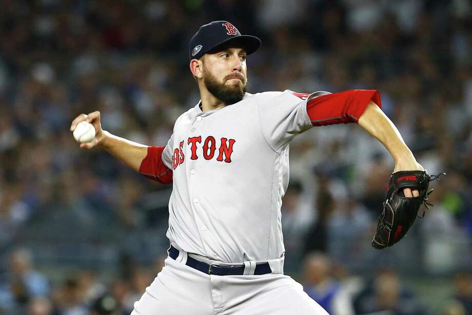 11c18d68040 Bethel native Matt Barnes has become a crucial part of the Red Sox bullpen  on their