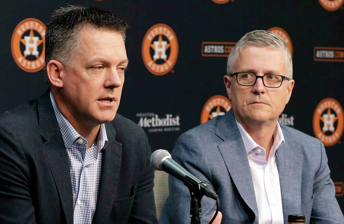A.J. Hinch and Jeff Luhnow are eligible to return for the 2021 season, whether there is baseball in 2020 or not.
