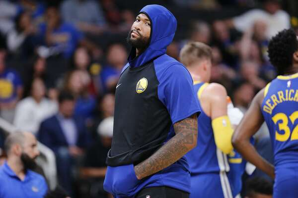1of12Golden State Warriors center DeMarcus Cousins (0) during the second  half of an NBA preseason game at SAP Center on Friday 47917d423