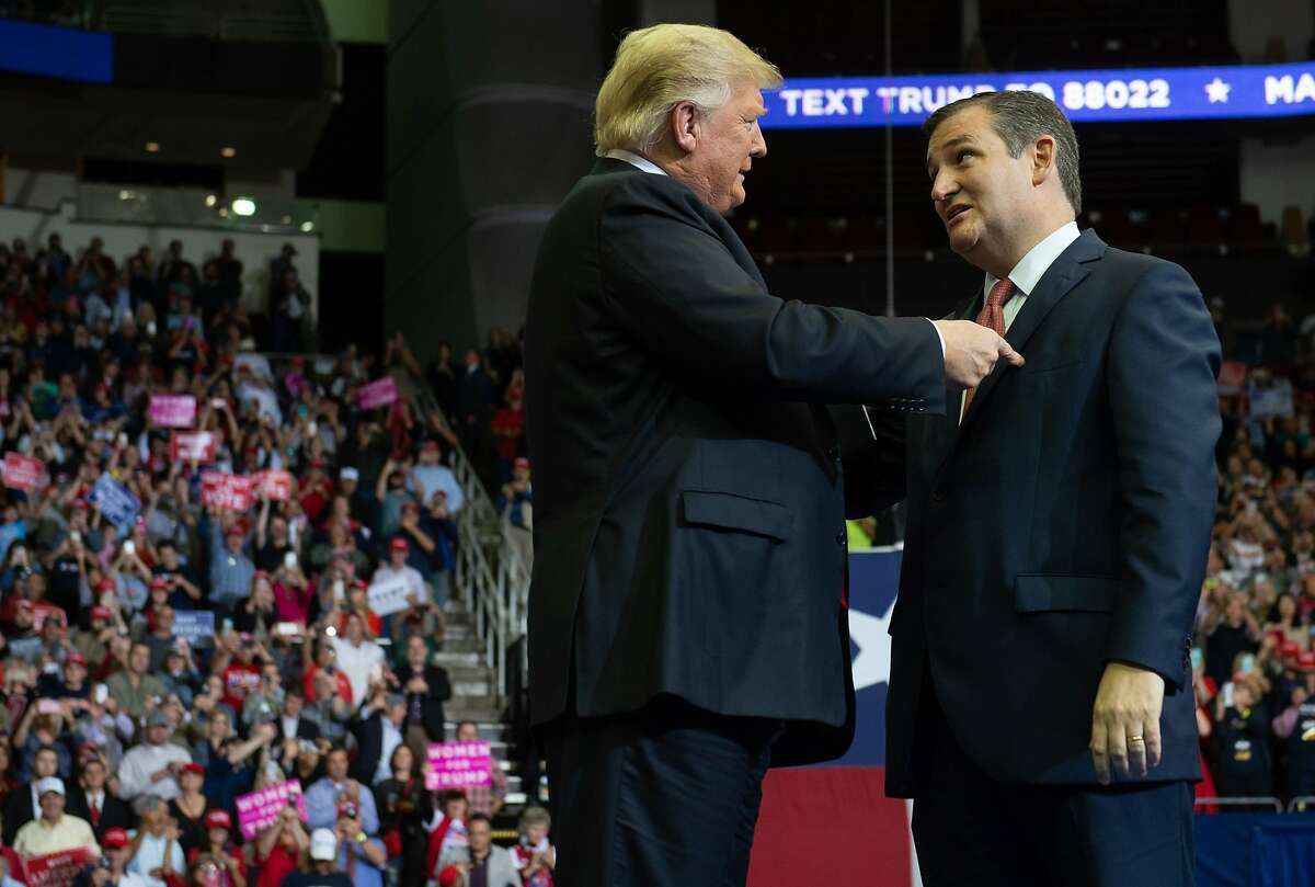Donald Trump said he had been talking with several Texas officials, including Senator Ted Cruz and Governor Greg Abbott, about immigration policy. After saying there are