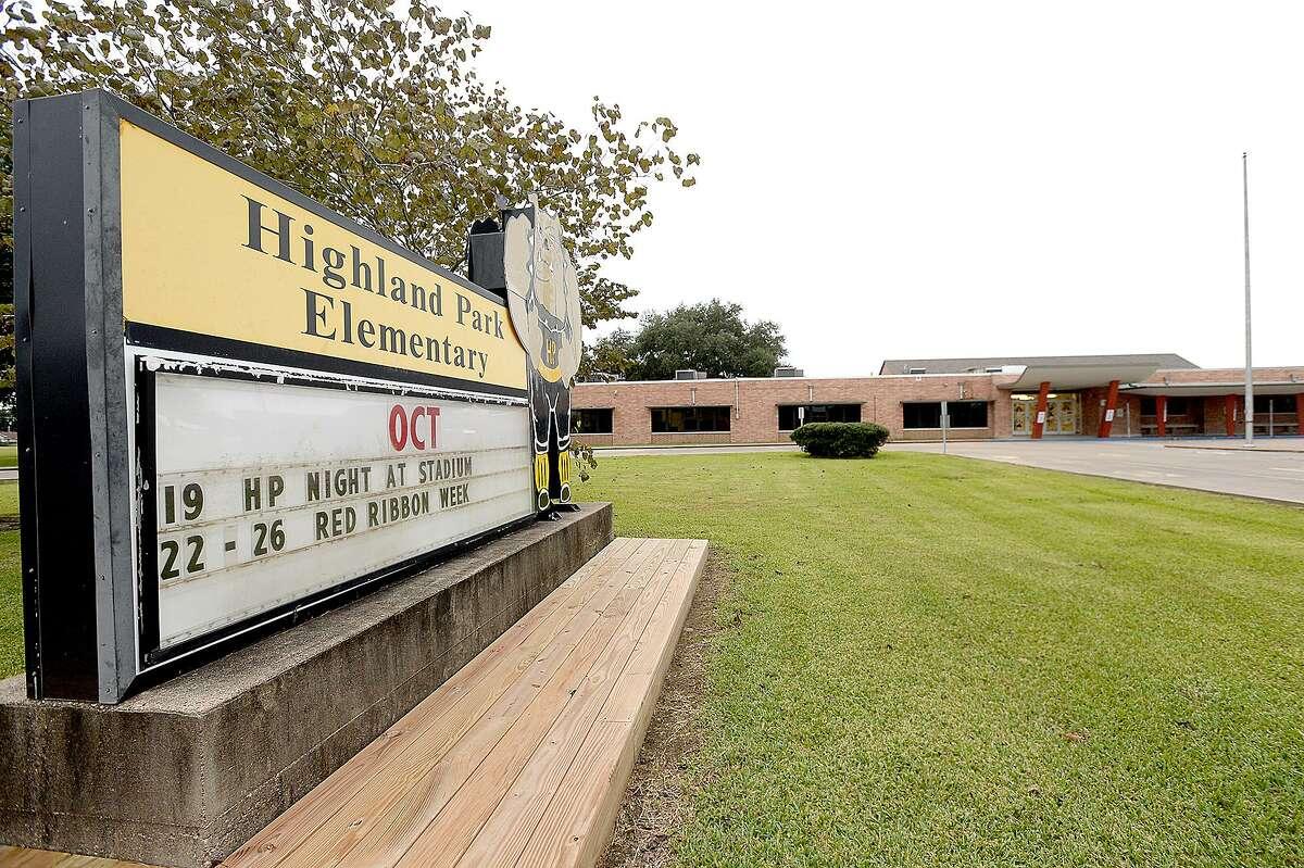 Highland Park Elementary Nederland ISD State Rank: 420 Grade: A-