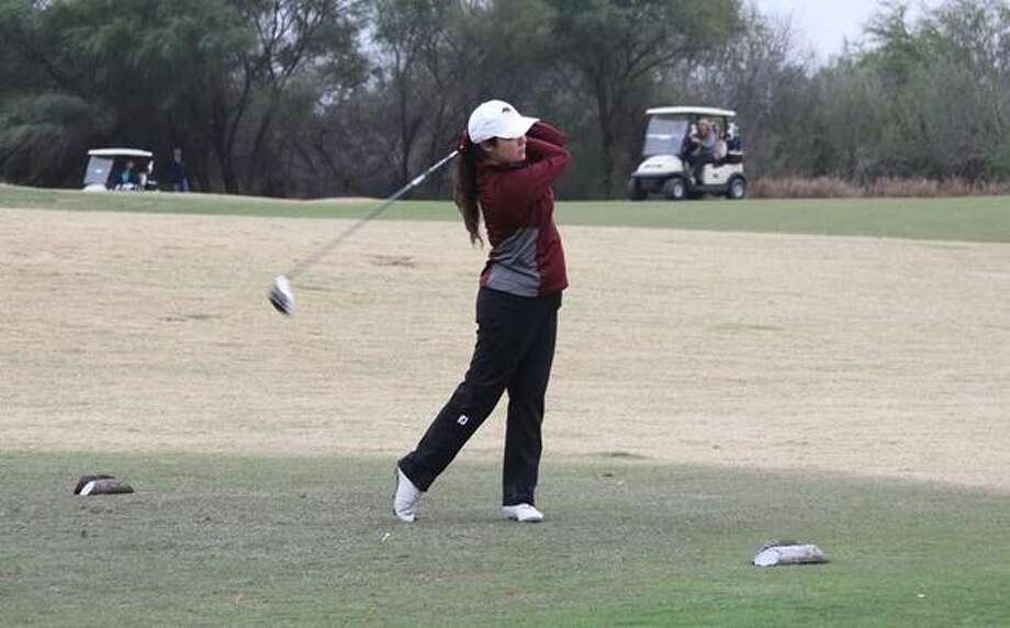 TAMIU is tied for fourth place 12 strokes off the lead heading into the final round of the Oklahoma Intercollegiate. Photo: Courtesy Of TAMIU Athletics