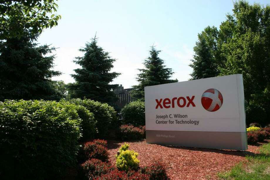 A file photo of Xerox's engineering and manufacturing campus in Webster, N.Y.